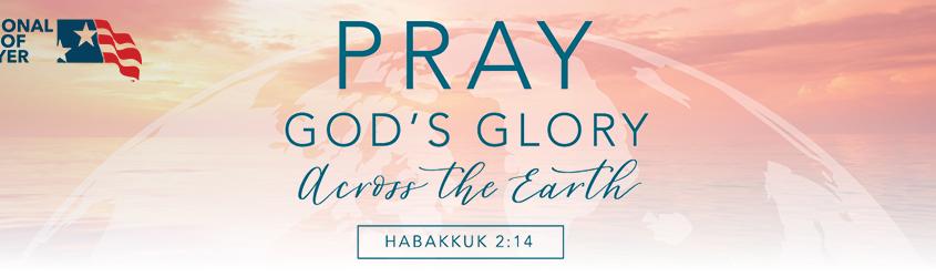Pray God's glory across the earth